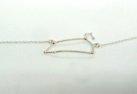 bracelet argent signe zodiaque constellation lion créateur perseïdes boutique Cam Le Mac