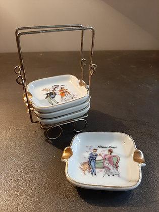 porte-cendriers vintage