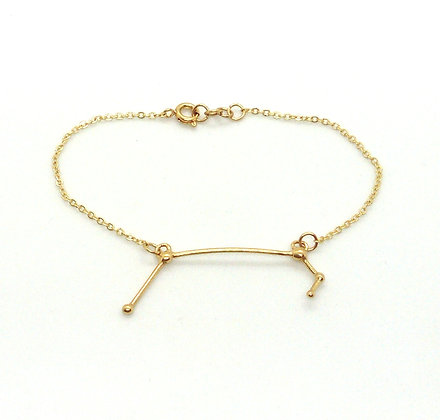 bracelet or signe zodiaque constellation bélier créateur perseïdes boutique Cam Le Mac