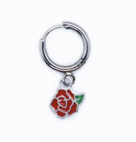 mini-créoles rose/hirondelle La Tatoueuse boutique cam le mac