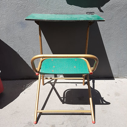 Petit bureau vintage pliant