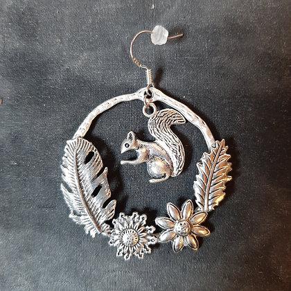 boucles d'oreilles écureuil créateur Noémie Zomby boutique cam le mac