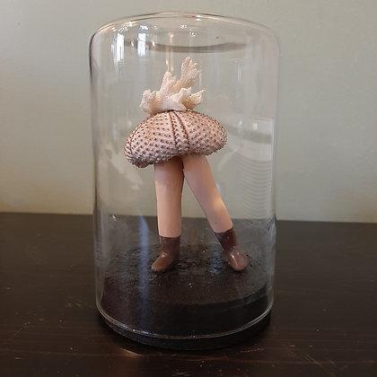 globe oursin jambes de poupée vintage cabinet de curiosités boutique cam le mac