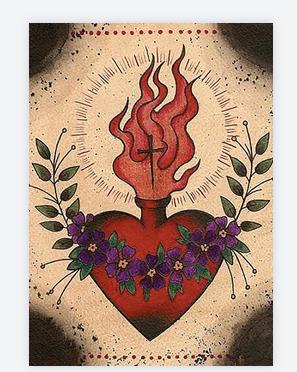 carte exvoto coeur rouge 2
