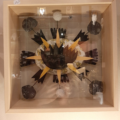 sculpture oeil par Cécile Chareyron