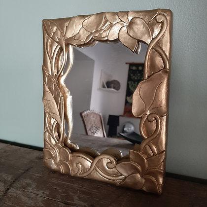 petit miroir style art nouveau