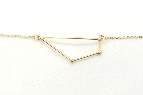collier or signe zodiaque constellation capricorne créateur perseïdes boutique Cam Le Mac
