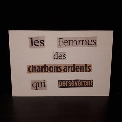 carte les femmes...le pari des mots