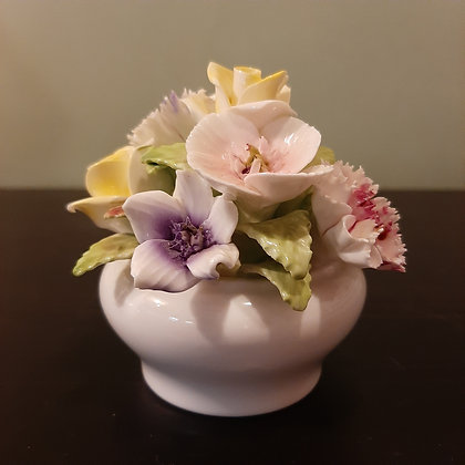 pot fleurs porcelaine