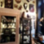 Cam le Mac boutique cabinet de curiosités