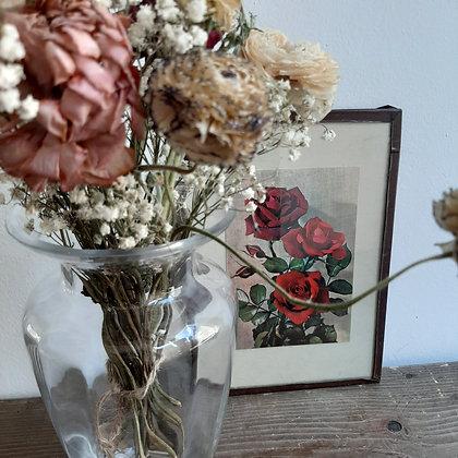 cadre vintage roses