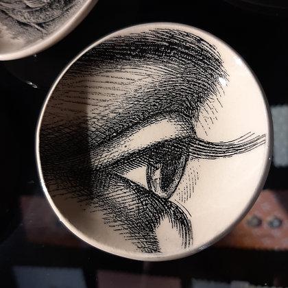 coupelle oeil vide-poche céramique création Stephanie Cahorel boutique cam le mac