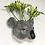 vase murale trophée quel ceramics cabinet de curiosités boutique cam le mac koala