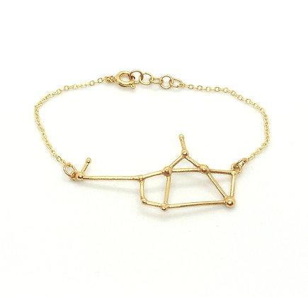 bracelet or signe zodiaque constellation sagittaire créateur perseïdes boutique Cam Le Mac