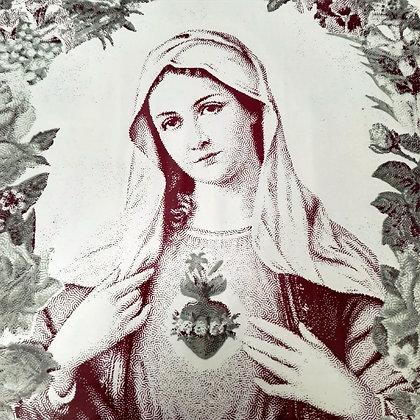 Vierge coeur sacré