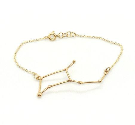 bracelet or signe zodiaque constellation vierge créateur perseïdes boutique Cam Le Mac
