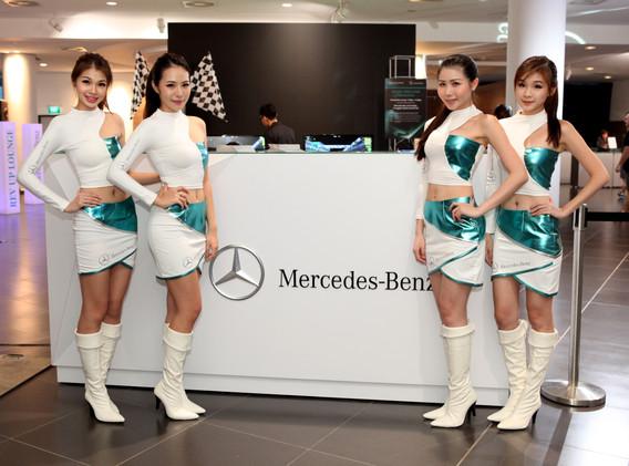Merc Benz F1 Screening