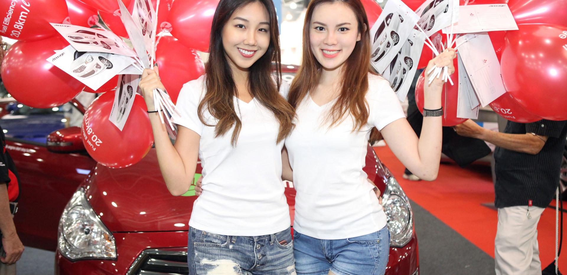 Mitsubishi Cars @ Expo