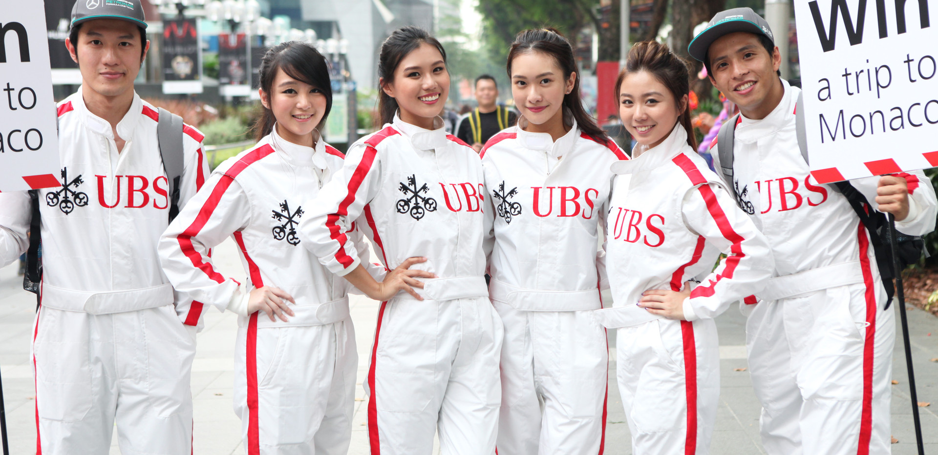 UBS F1 Activation