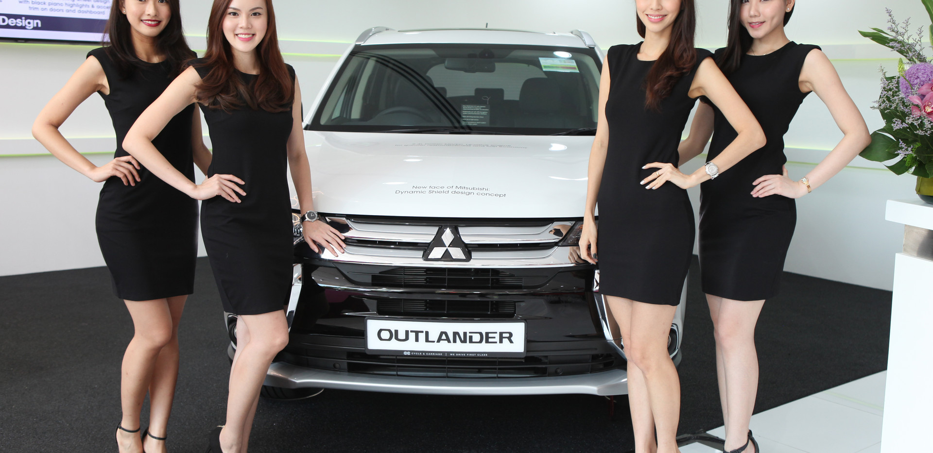 Mitsubishi Outlander Launch