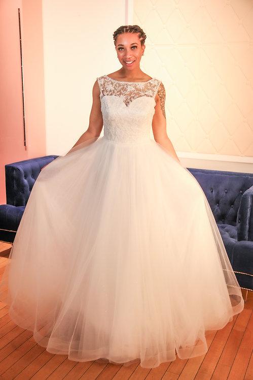 21016 Hand Beaded BallGown  Wedding Dress