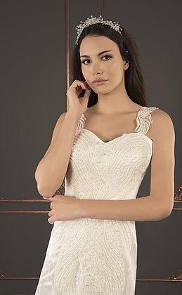 21006 Hand Beaded Wedding dress
