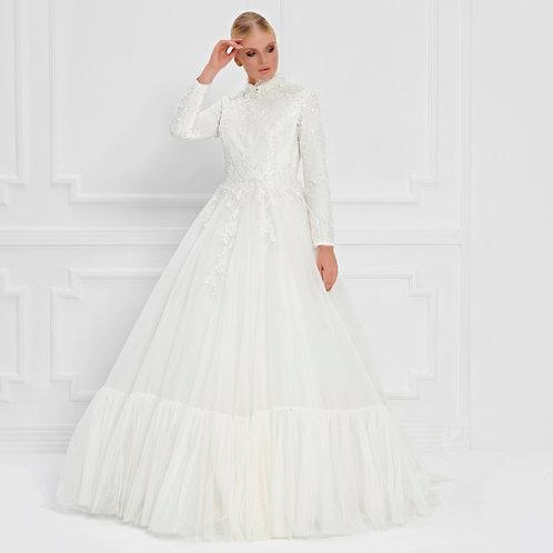 017554 Wedding Dress