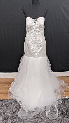 21534 Mermaid Hand Beaded Wedding Dress