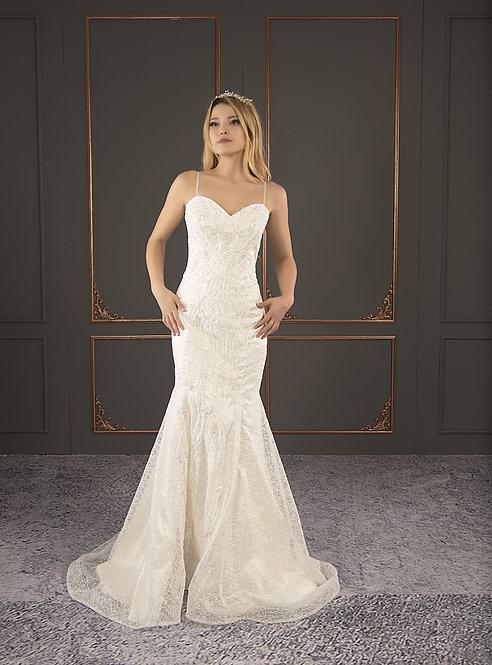 21042 Hand Beaded Wedding dress