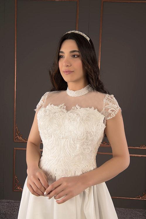 21019 Hand Beaded Wedding dress
