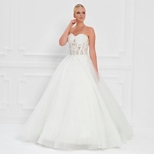 017538 Wedding Dress