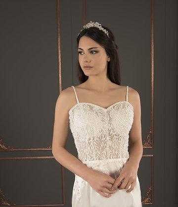 21004 Hand Beaded Wedding dress