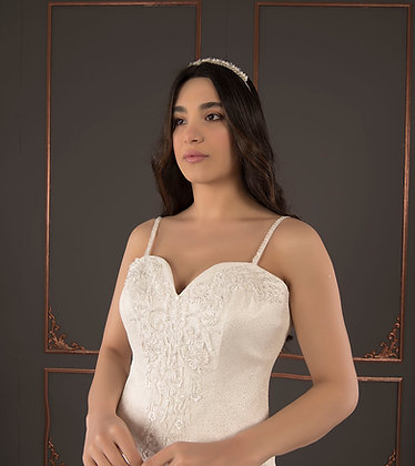 21090 Hand Beaded Wedding dress