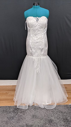 21545 Mermaid Hand Beaded Wedding Dress