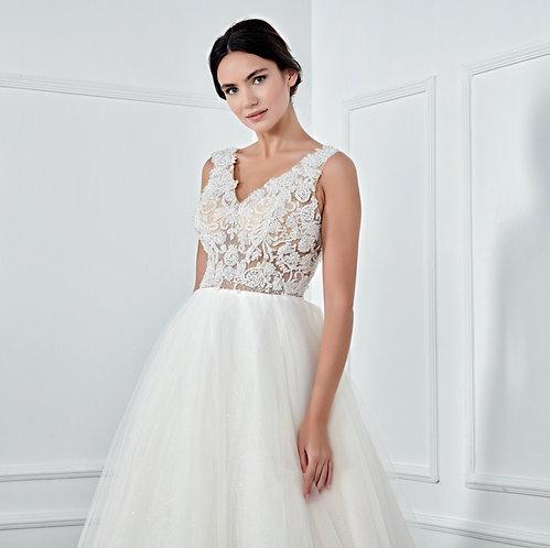 017132 A Line Wedding Dress