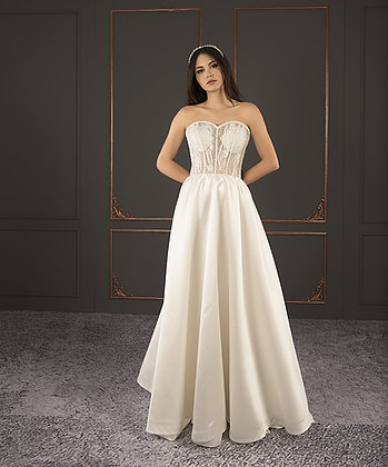 21102 Hand Beaded Wedding dress
