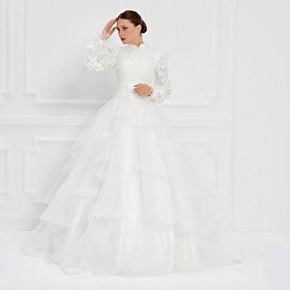 017555 Wedding Dress