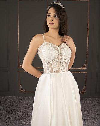 21015 Hand Beaded Wedding dress