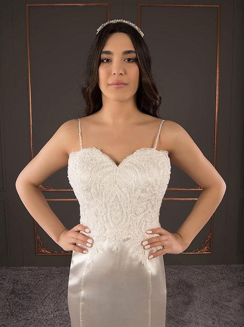 21096 Hand Beaded Wedding dress