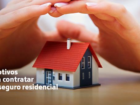 7 motivos para contratar um seguro residencial.