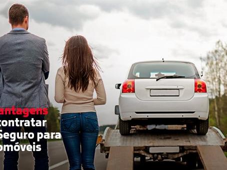 10 vantagens de contratar um seguro para automóveis.