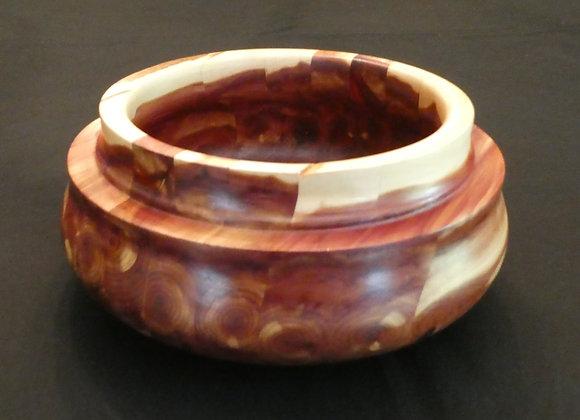 """Cedar Bowl: 8.5"""" 4"""""""