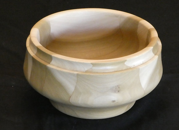 """Poplar Bowl: 7.25"""" x 4 """""""