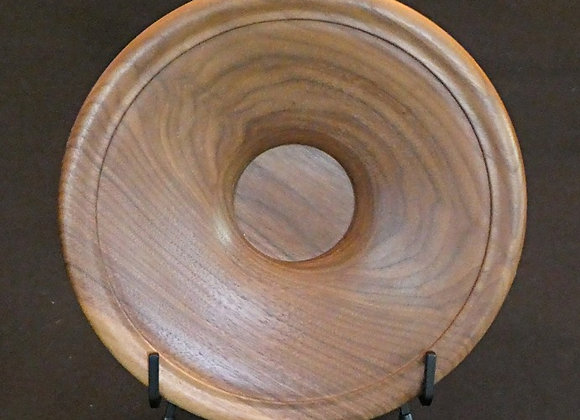 """Walnut Platter: 9"""" x 2"""""""
