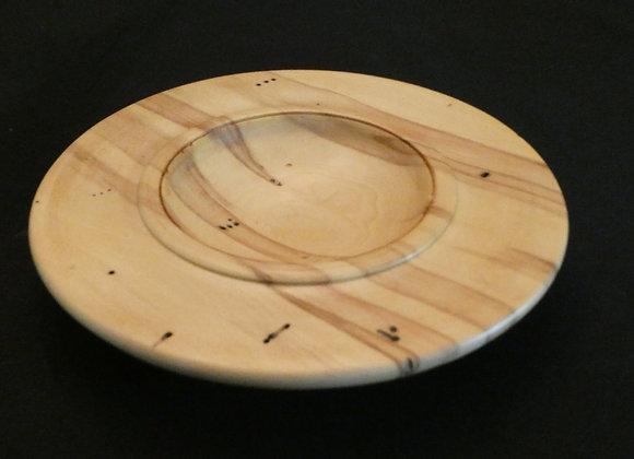 """Box Elder Plate: 8.25"""" x 1.25"""""""