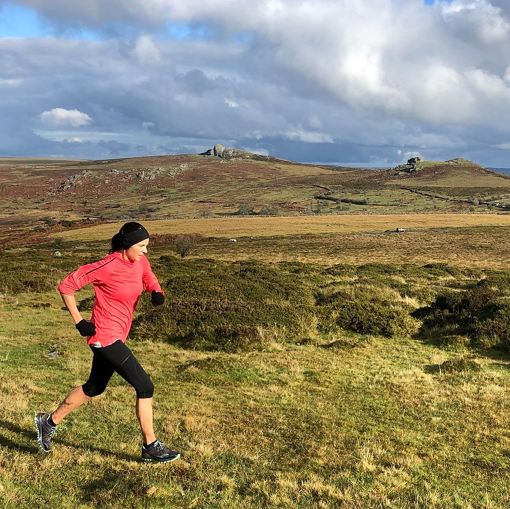 Running on Dartmoor - Haytor
