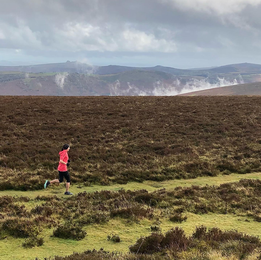 Running on Dartmoor - Hameldown