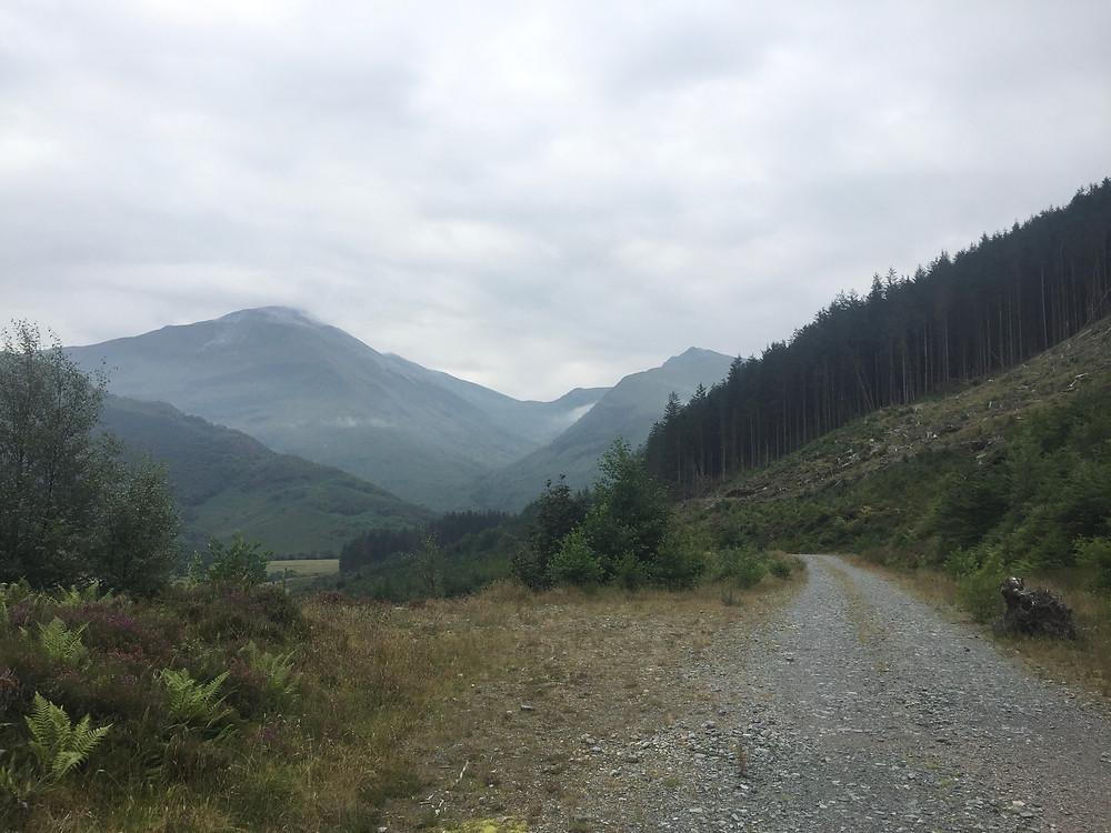 The West Highland Way - Glen Nevis