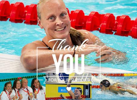 Inge Dekker decided to end her active swimming career