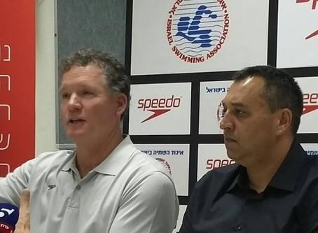 Coach Marsh wants to see Israeli flag in Tokyo 2020 Pool